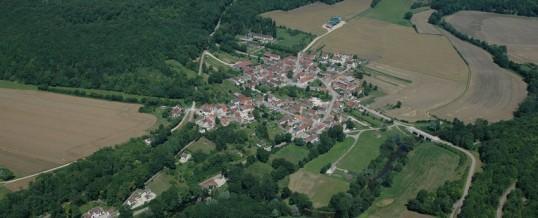 Village vert en Bourgogne
